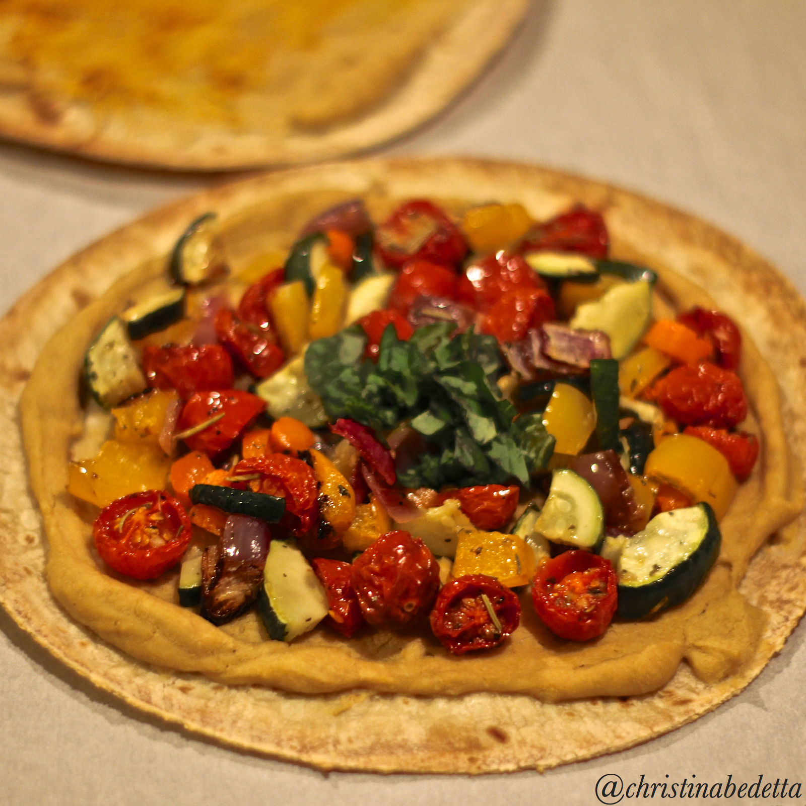 Hummus Tortilla Pizza The Perfect Fast And Simple Meal Create Nourish Love